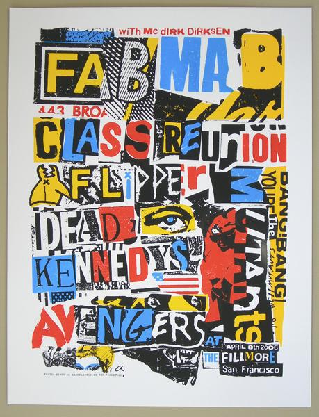 fab mab class reunion Dirk Dirksen mutants avengers flipper dead kennedys Fillmore