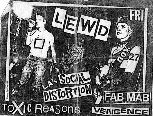 LEWD Social Distortion toxic reasons FAB MAB